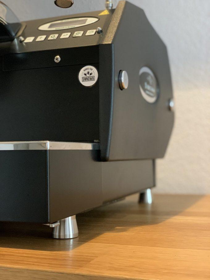 GS3 Füße 25mm Edelstahl